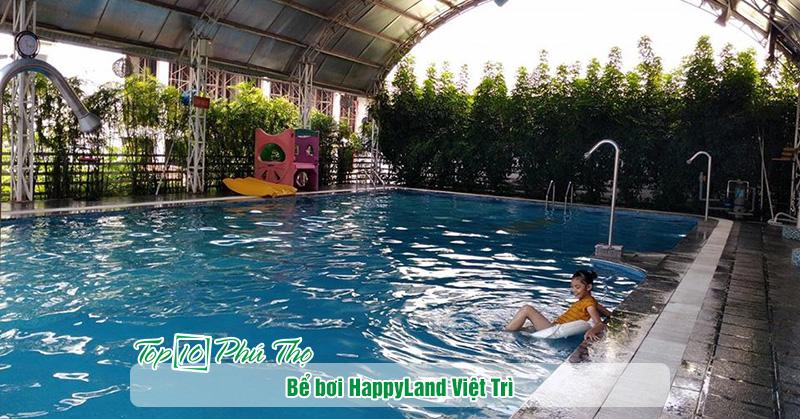 Bể bơi Happy Land Việt Trì