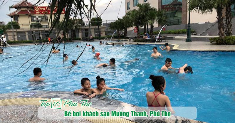 Bể bơi khách sạn Mường Thanh Phú Thọ