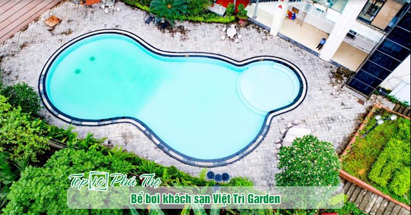 Bể bơi khách sạn Việt Trì Garden
