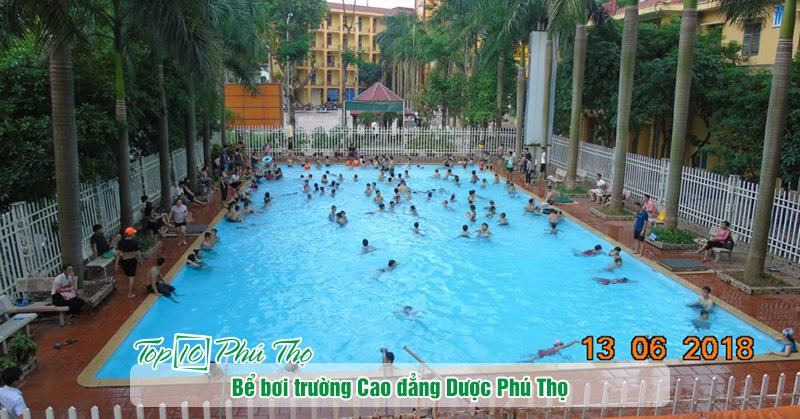 Bể bơi trường cao đẳng Dược Phú Thọ