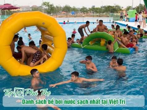 Bể bơi tại Việt Trì có nước sạch nhất