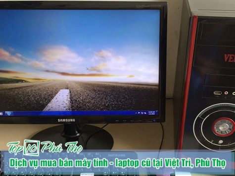 Top 3 dịch vụ mua bán máy tính - laptop cũ tại Việt Trì, Phú Thọ