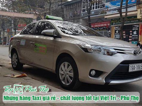 Taxi Việt Trì - Phú Thọ giá rẻ được nhiều khách hàng lựa chọn