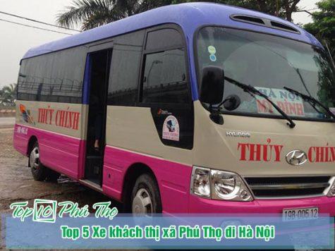 Xe khách thị xã Phú Thọ đi Hà Nội