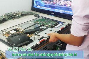 Dịch vụ sửa chữa Tivi chất lượng tốt nhất tại Việt Trì